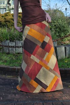 Funky Town Harvest Patchwork Skirt                                                                                                                                                     More