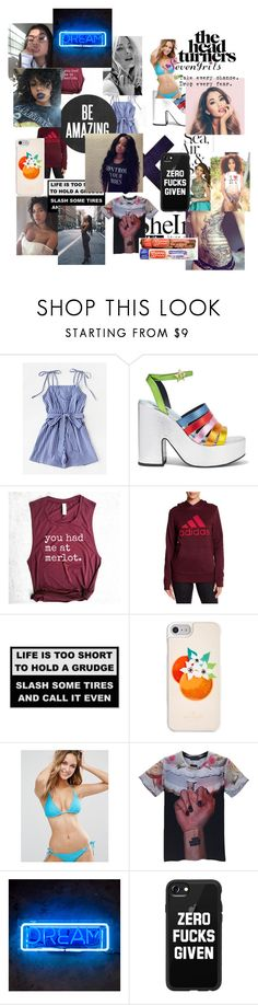 """always on my mind"" by beebo999 ❤ liked on Polyvore featuring Sherri Hill, MR by Man Repeller, adidas, Kate Spade, Lepel and Casetify"