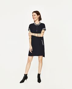 ZARA - COLLECTION AW/17 - CONTRASTING RIBBED TUNIC