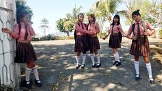 School uniforms of NEMS, Hnahthial, Lunglei, Mizoram, India