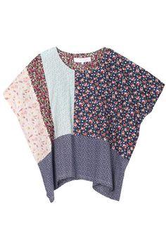 Patchwork fabrics | Top oversize | rittenhouse