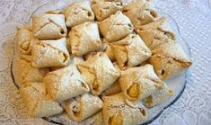 Šlehačkové šátečky s tvarohem Snack Recipes, Snacks, Chips, Potatoes, Vegetables, Food, Snack Mix Recipes, Appetizer Recipes, Appetizers