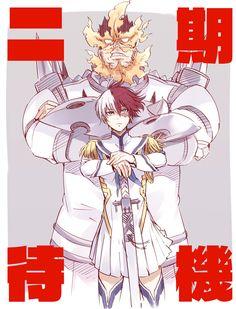 Chica Anime Manga, Kawaii Anime, Anime Guys, Kill La Kill, My Hero Academia Shouto, Hero Academia Characters, Wallpaper Animes, Becoming Human, Fanart