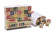 ABC/123 Træklodser - Klassiske