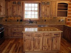 rustic hickory kitchen cabinets portable pantry 10 best images armoire washroom cabin northern mn pinterest and
