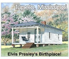 Spring, when the azaleas are in bloom, is a great time to visit Tupelo.