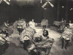 Ilse Bing photograph: Can-can Dancers, Paris 1931