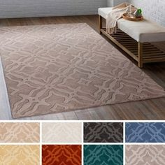 Shop for Hand-Loomed Ledo Wool Rug (3' x 5'). Get free shipping at Overstock.com - Your Online Home Decor Outlet Store! Get 5% in rewards with Club O!