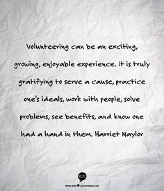 Volunteering is what you make it. Choose to make a difference doing something your passionate about. Check out our many volunteering positions at over 140 not-for-profit organisations @ www.volunteeringsunshinecoast.com.au/vsc/