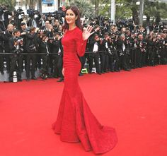 Ravishing in red! Katrina Kaif takes the red carpet by storm in Elie Saab on day 2 of Cannes Film Festival - IBNLive