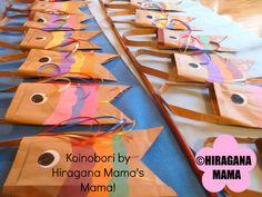 Koinobori bags