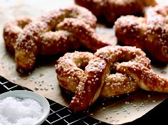 Oh my gawd-enough said | Homemade Hot buttered Soft Pretzels Recipe