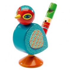 Wooden Bird Whistle