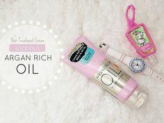 Review : LÚCIDOL-L Argan Rich Oil Hair Treatment Cream