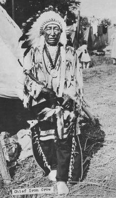 Iron Crow | www.American-Tribes.com