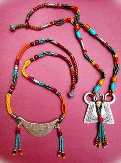 ~ Recent work.Old silver pendent with my bead work ~ ~ Recent work.Old silver pendent with my bead work ~ Diy Jewelry Rings, Custom Jewelry, Jewelry Accessories, Jewelry Design, Women Jewelry, Jewellery, Tribal Jewelry, Bohemian Jewelry, Beaded Jewelry