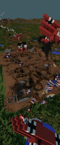 "Stephen Reid on Twitter: ""Bring #WWI to life in your classroom...check out this pic our trench warfare #Minecraft map. See if you can find us. https://t.co/y2cXroWBWX"""