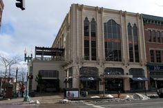 Great #deco elements in downtown #Canton, #Ohio.