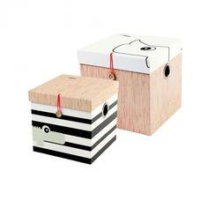 Förvaringslådor 2-pack