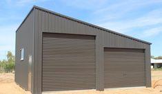 Large double skillion garage