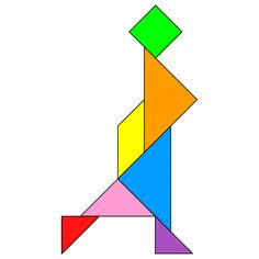 tangram woman tangram solution providing teachers and pupils with tangram puzzle activities