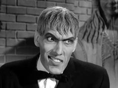 Lurch tries to smile Addams family tv show