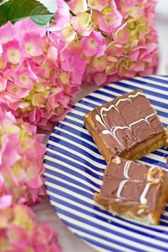 Easy Salted Caramel Millionaires Shortbread Recipe by Little Paper Swans