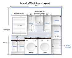Amazing Bathroom, Simplistic Laundry Room Layout Ideas With Mudroom Layout Design  Ideas: Inspiring Laundry Room Layout With Small Space Designs