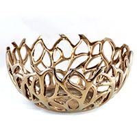 Regalia Branch Design Decorative Bowl 13in - cheap version of the z gallerie bowl