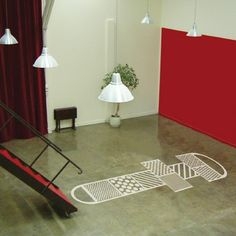 hopscotch floor decal