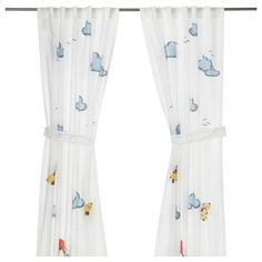 FLYGNING Curtain with tie-back - IKEA