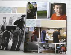 Week in the Life photo layouts