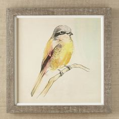 Petite Bird Framed Print IV #birchlane