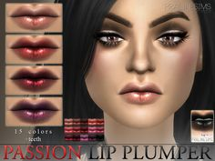 Passion Lip Plumper N29   Teeth by Pralinesims at TSR