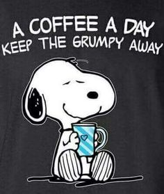 Love my coffee.I'm going to add this to my own snoopy handbag! Peanuts Quotes, Snoopy Quotes, Eeyore Quotes, Peanuts Cartoon, Peanuts Snoopy, Snoopy Cartoon, Peanuts Comics, Snoopy Love, Snoopy And Woodstock