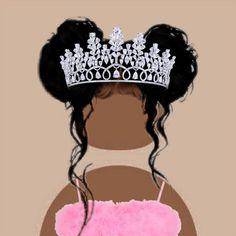 Creative Profile Picture, Profile Picture For Girls, Cute Profile Pictures, Black Girl Cartoon, Black Girl Art, Black Women Art, Sassy Wallpaper, Cute Tumblr Wallpaper, Black Aesthetic Wallpaper