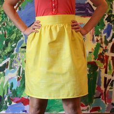 This makes sewing skirts look so easy!