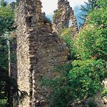 Ruins of the Blatnický hrad Castle stand near the village Blatnica on the low but sharp limestone ridge, which separates Gaderská dolina valley from the Turčianska kotlina basin. It dates to the 13th century.  Slovakia