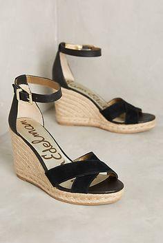 9717586c088d Sam Edelman Brenda Wedges Leather Wedge Sandals