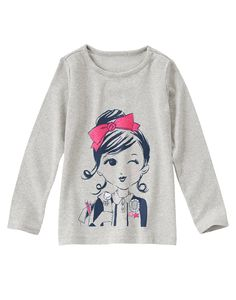 I Love Books Long Sleeve Tee at Gymboree