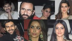 Karan Johar invited stars like Alia Bhatt, Varun Dhawan for a 'Puja' at his office on the occasion of Laxmi Puja. Later in the day, there were many other celebrities like Kareena Kapoor Khan and Saif Ali Khan who showed up at his gathering. Saif Ali Khan, Karan Johar, Kareena Kapoor Khan, Varun Dhawan, Alia Bhatt, Bollywood News, Diwali, Celebrities, Celebs