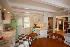Timeless retro cottage kitchen design ideas — and other terrific interiors — from the Carmel Cottage Inn