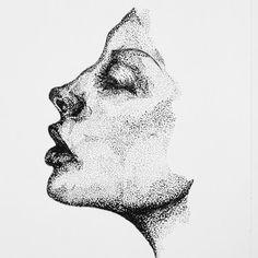 dotwork drawing