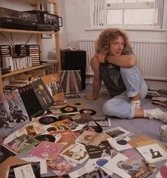 can i just be in this room and never leave... robert plant and vinyl.. what else do you need