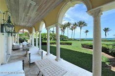 palm beach house patio