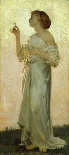 Leon Jean Basile Perrault, Allegorical Figure, 1890. Oil on canvas.