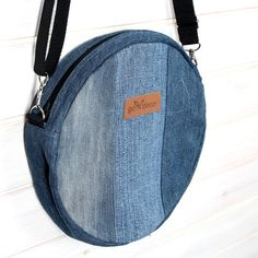 Ecological bag, denim bag, jeans bag, shoulder bag, denim, tasche denim, ecology bag, organic bag, recycling bag, upcycling, crossbody bag