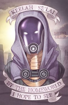 This Tali Zorah from Mass Effect Print is 11 x 17 printed on fullbleed 100lb Matte Text. This means the art extends all the way to the edge, perfect for displaying as a poster or framed on your wall behind glass. Actual poster does NOT have a water mark