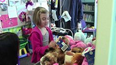 UC Davis Children's Hospital patients make new furry friends at Build-a-Bear Workshop