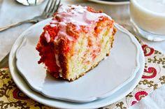 Pink Marble Swirl Cake